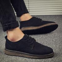冬季新款男鞋子韩版潮流增高皮鞋男士休闲鞋百搭潮鞋保暖棉鞋秋季