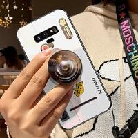 三星NOTE9手机壳3星n0te9玻璃nont9创意n9个性smn9608复古n9600相机n96o