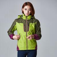 AIRTEX/亚特户外秋冬女士三合一冲锋衣抓绒两件套透气保暖登山服