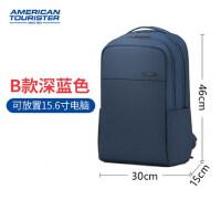 2019年新款休闲书包美旅商务双肩包男背包大女笔记本电脑包15.6寸