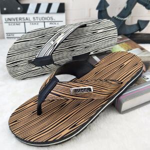 拖鞋男夏季防滑沙滩鞋外穿个性凉鞋室外凉拖潮韩版软底夹脚人字拖22HR