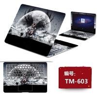 戴尔Dell灵越14-n4030电脑保护贴纸免裁剪笔记本外壳个性贴膜