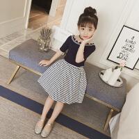 女童夏装新款套装韩版潮衣洋气儿童装夏季两件套裙