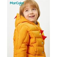 【1件35折】巴拉巴拉旗下马卡乐冬季男童 韩版时尚鸭绒短款羽绒服