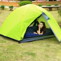 户外帐篷蓝色气垫床充气床 单人双人充气床垫厚款