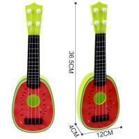 ?小女孩男宝宝初学水果小吉他尤克里里儿童乐器玩具1-2-3-6岁琴弦式?