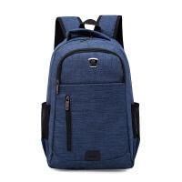 新款双肩包男士电脑包女户外休闲背包学院风高中大学生书包旅行包