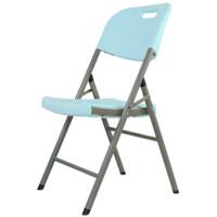 折叠椅家用餐椅椅休闲塑料椅会议培训办公电脑椅凳子靠背椅子