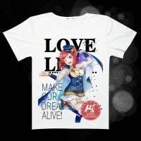 2018年新款LoveLive 周边 星座系列夏季短袖款T恤 动漫衣服/痛衣/衬衫 男女