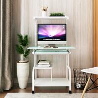 迷你电脑桌台式家用简约现代可移动书桌小户型卧室简易省空间桌子