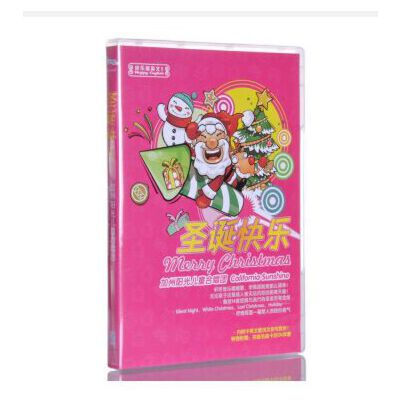 原装正版 加州阳光儿童合唱团 圣诞快乐 CD 附中英文歌词圣诞音乐 正版保证!正规机打增值税发票