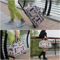 旅行包拉杆包女手提折叠旅行袋大容量短途韩版轻便登机包行李包
