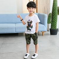 男童夏装新款套装夏季童装儿童帅气中大童潮衣服