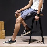 夏季亚麻休闲短裤男士加肥加大码韩版宽松五分裤潮流沙滩裤男裤子