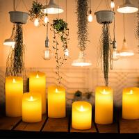 电子蜡烛浪漫生日 布置 引路led灯求爱表白求婚道具摇摆仿真石蜡