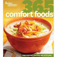 【预订】Better Homes and Gardens: 365 Comfort Foods