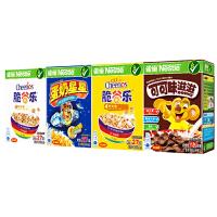 雀巢(Nestle) 即食麦片谷物早餐 108gX2排 盒装 非油炸 五谷膳食纤维 黄金圈营养早餐