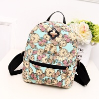 女孩背包双肩学院风小学生时尚迷你旅行包休闲书包可爱儿童包包皮