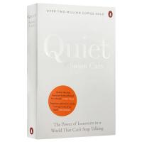 内向性格的竞争力 英文原版书 Quiet 发挥你的本来优势 积极心理学之父克里斯托弗赞赏之作 英文版进口心理学书籍正版