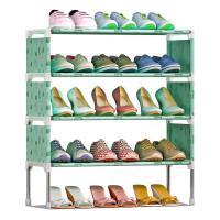 思故轩简易多层鞋架 组装防尘鞋柜简约现代经济型铁艺收纳架K125