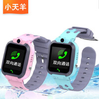 小天羊 防水触摸版儿童手表 智能定位电话智能小孩学生手环插卡能打手机 1.44英寸触摸彩屏拍照定位孩子 学生手表插卡智能手表