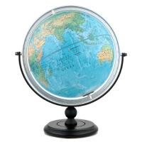 【新�A正版】博目地球�x:30cm中英文地形地球�x 北京博目地�D制品有限公司 著 �y�L出版社 9787503040016