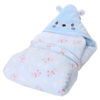 婴儿抱被新生儿秋冬款超柔绒可脱胆婴儿包被四季常用宝宝抱毯 春秋抱被