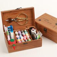 缝纫线套装家用缝纫线手缝线盒装 缝纫机线 家用针线套装12色