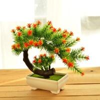 客厅餐桌酒柜装饰品摆件家居仿真花套装绿色植物盆景假花盆栽摆设