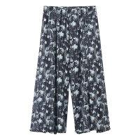 【1件2.5折到手价:51.3】美特斯邦威女开叉细节潮流时尚雪纺阔腿裤