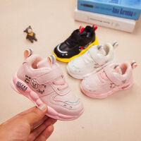 小童潮鞋软底 秋冬加绒宝宝运动鞋中童学步鞋男女童二棉鞋0-6岁3
