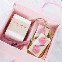 4号礼盒椰子蜡香薰蜡烛香氛蜡片组合圣诞礼盒生日礼物