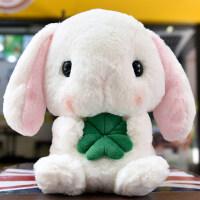 兔子毛绒玩具长耳朵垂耳兔公仔小白兔玩偶抱枕布娃娃送女生日礼物