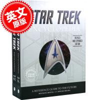 [现货]星际迷航百科全书套装 英文原版 新版 升级版 The Star Trek Encyclopedia 精装收藏