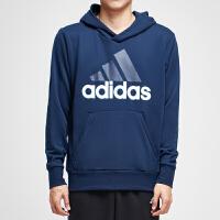 adidas阿迪达斯男子卫衣2018新款连帽套头衫休闲运动服B45730