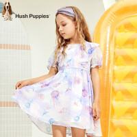 【3件3折:140元】暇步士童装女童连衣裙2020夏季新款儿童公主裙可爱修身中大童裙子