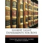 【预订】Gilbert Light Experiments for Boys