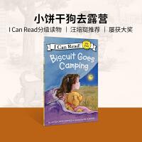 英文绘本原版进口Biscuit Goes Camping 小饼干去露营 汪培�E推荐 [4-8岁]