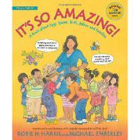 【现货】英文原版 It's So Amazing! 这真的很奇妙!少儿性教育启蒙图书 7岁以上适用 生育与家庭 用有趣的