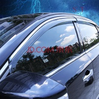 斯巴鲁XV傲虎森林人不锈钢晴雨挡车窗雨眉带亮条 斯巴鲁XV 2012