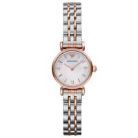 阿玛尼(Emporio Armani)手表 钢制表带经典时尚休闲石英女士腕表AR1764