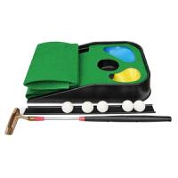 儿童高尔夫球玩具套装初学者推杆练习器球杆室内户外子运动 高尔夫练习垫 领券减5 (反斗城同款