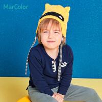 【1件2折】马卡乐男童纯棉针织衫 春秋款宝宝长袖毛衣