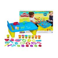 培乐多儿童节礼物彩泥创意活动桌套装益智无毒橡皮泥收纳礼盒玩具