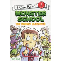 英文原版Monster School: The Spooky Sleepover怪物学校
