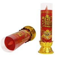 佛教佛堂用品财神供灯乔迁无烟电蜡烛电子蜡烛灯LED闪烁供佛蜡烛