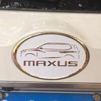 20180823173815817专用于大通D90车标车贴标志字标MAXUS汽车金属改装车尾标3D悬浮标