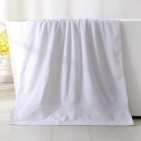 浴巾纯棉柔软吸水速干加大加厚全棉家用个性大毛巾浴巾女 140x70cm
