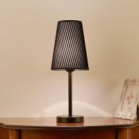 台灯卧室床头美式北欧客厅灯现代简约时尚温馨创意调光床头柜台灯
