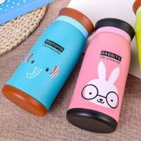 儿童保温杯不锈钢双层真空大肚杯子韩版创意动物卡通礼品A811